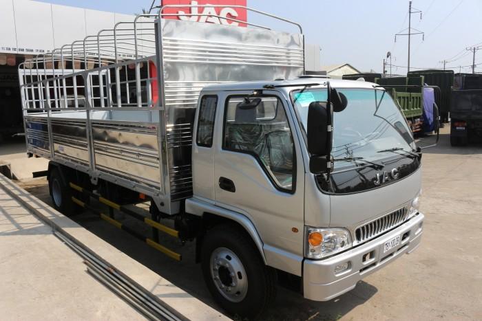 Xe tải JAC 6t4 6.4 tấn thùng dài 6.2m hỗ trợ trả góp 70%