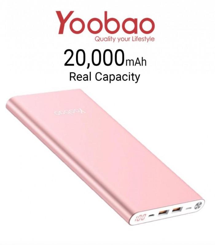 Pin Sạc Dự Phòng Yoobao A2 20000mAh Siêu Mỏng Cao Cấp6