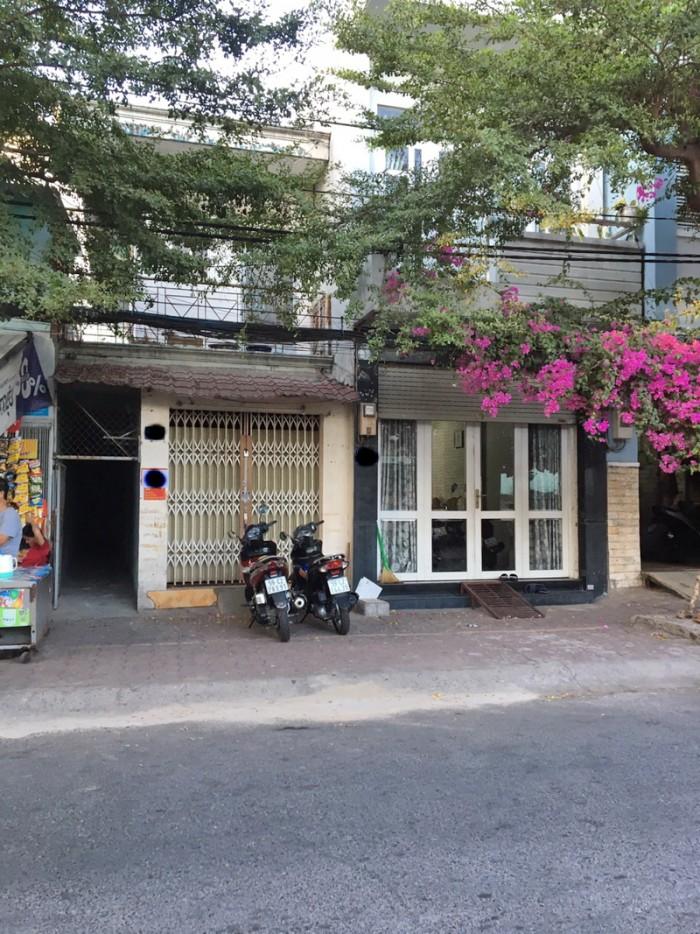 Bán nhà 1 lầu mặt tiền hẻm 487 Huỳnh Tấn Phát P. Tân Thuận Đông Quận 7.