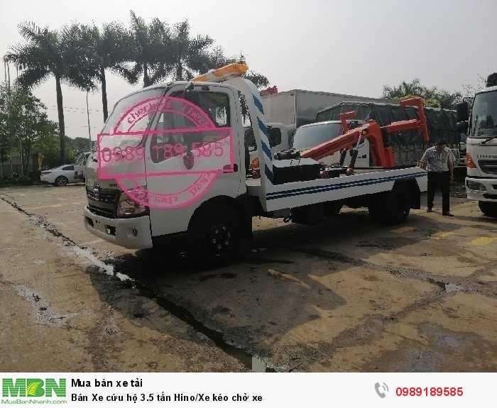 Bán Xe cứu hộ 3.5 tấn Hino/Xe kéo chở xe 0