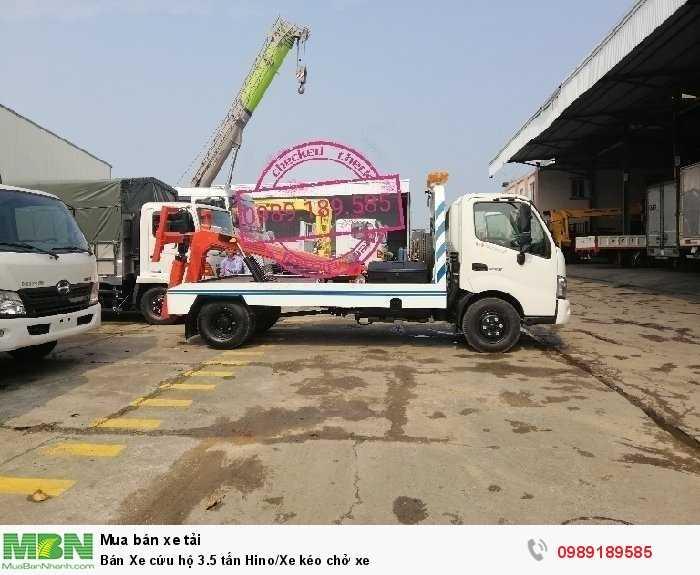 Bán Xe cứu hộ 3.5 tấn Hino/Xe kéo chở xe 1