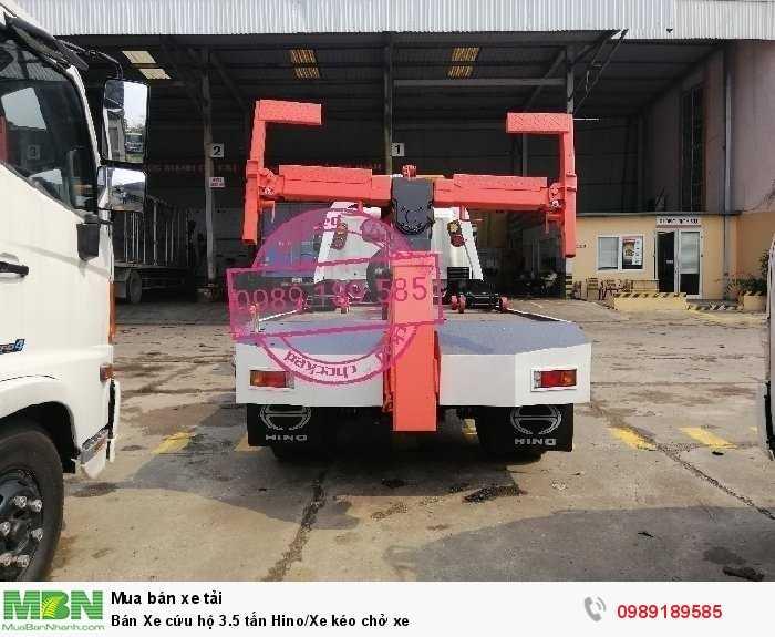 Bán Xe cứu hộ 3.5 tấn Hino/Xe kéo chở xe 2