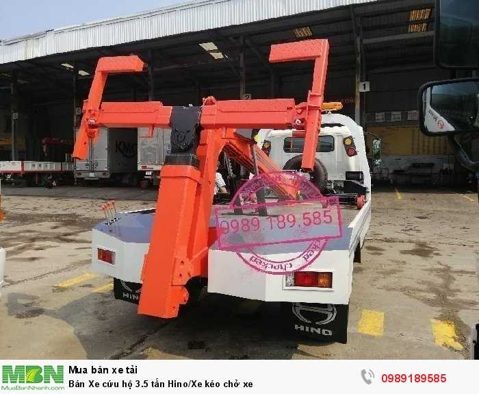 Bán Xe cứu hộ 3.5 tấn Hino/Xe kéo chở xe 3