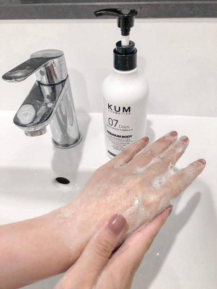 Gel tắm kích trắng hàng ngày kumcosmetic