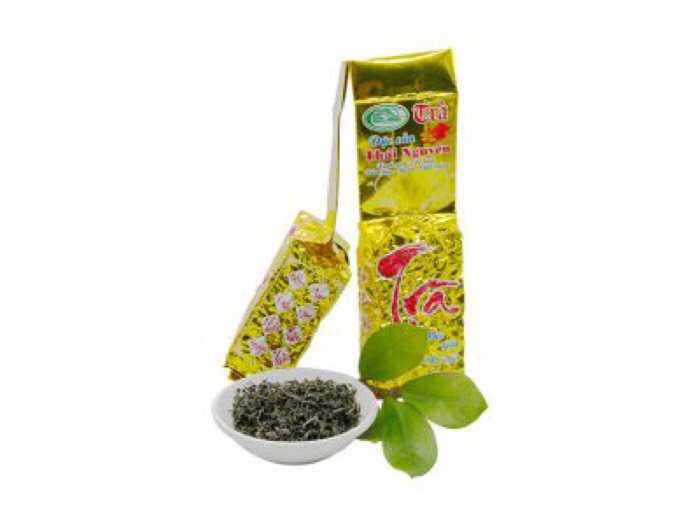 500g trà đặc sản thái nguyên - trà nõn tôm thượng hạng gói 500g0