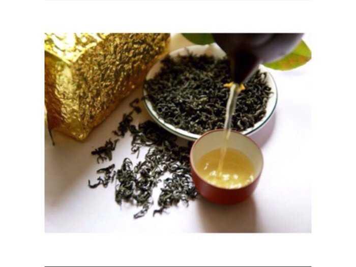 500g trà đặc sản thái nguyên - trà nõn tôm thượng hạng gói 500g1