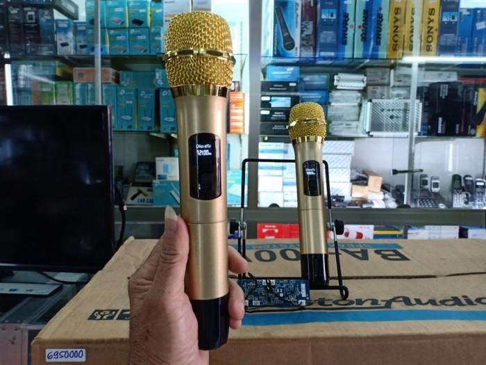 Micro không dây UHF kèm bo mạch Sóng: UHF khỏe cho khả năng bắt sóng mạnh 20-30m4
