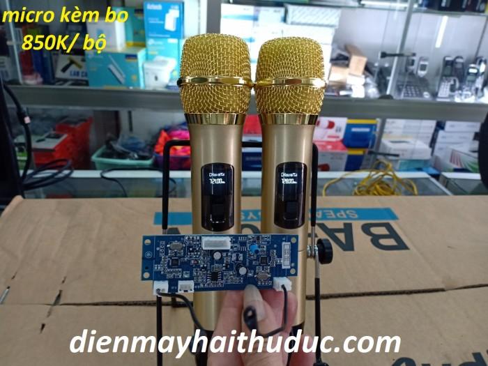 Micro không dây UHF kèm bo mạch dành cho loa kéo2