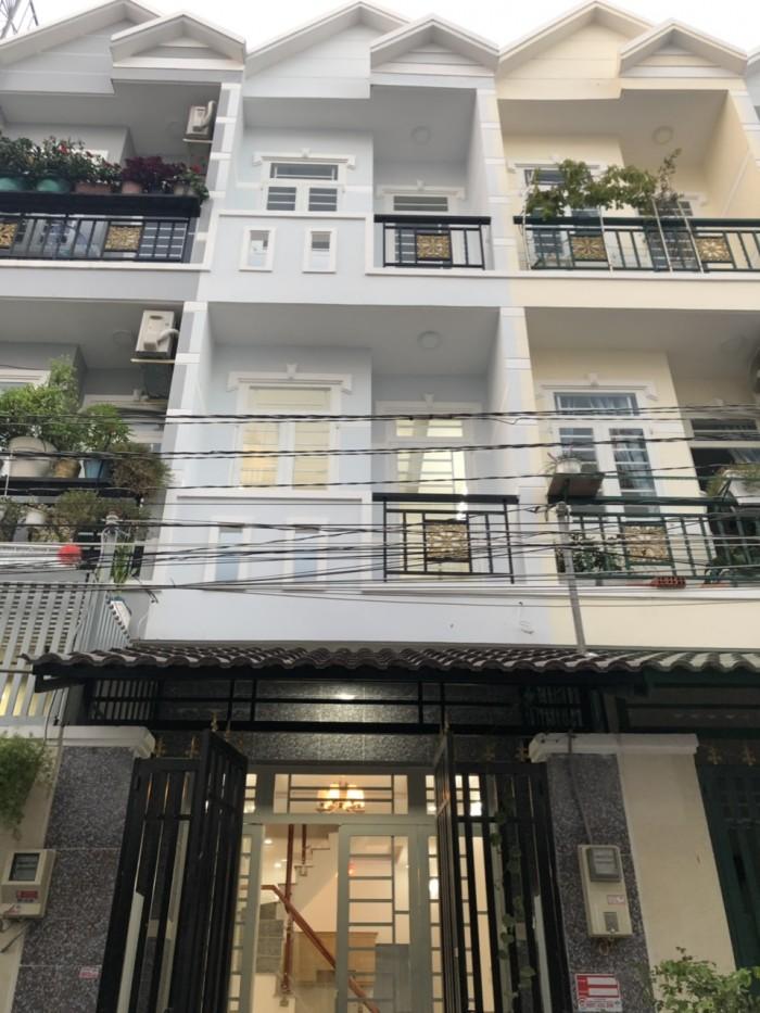 Bán nhà đường Huỳnh Tấn Phát, Xã Phú Xuân, Huyện Nhà Bè, DT 3.1m x 12m, 2 lầu 4 PN