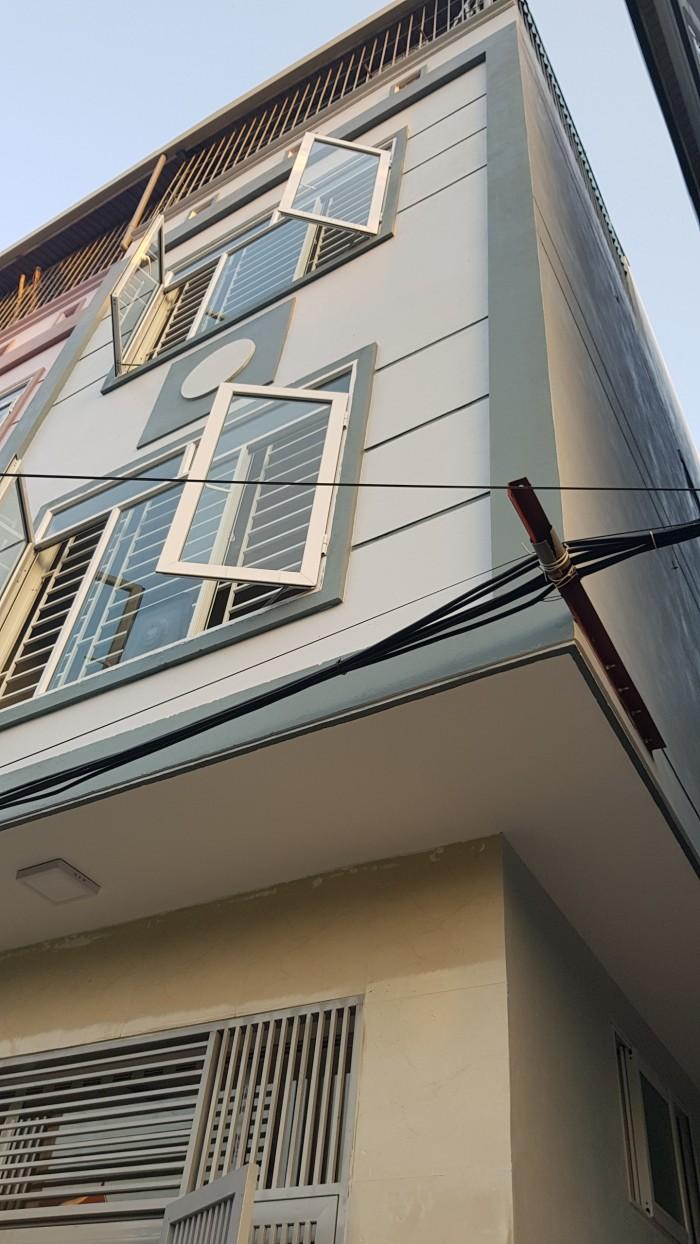 Nhà Quang Lãm- gần UBND Phú Lãm 4 tầng (40m2-4PN) 2 mặt thoáng