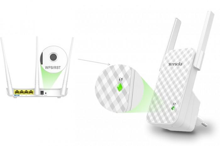 Bộ Kích Sóng Wifi Repeater 300Mbps Tenda A9 (Chính Hãng)10
