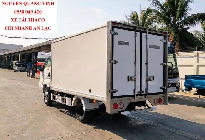 Kia K250 - Thùng Bảo Ôn (Đông Lạnh) - Tải Trọng 1,9 Tấn - Thay Thế K3000s Và K165