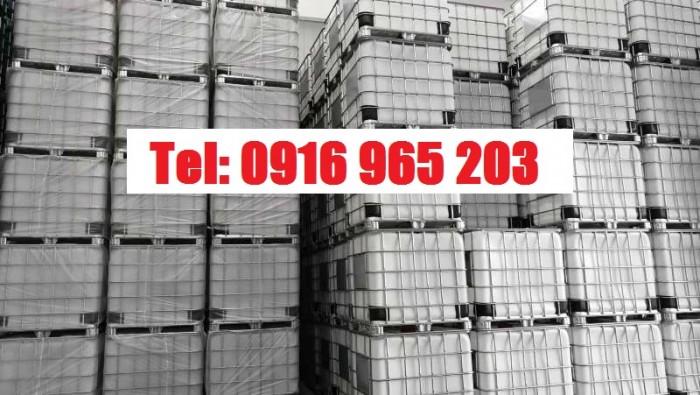 thùng nhựa ibc 1000 lít, tank hóa chất 1000 lít2