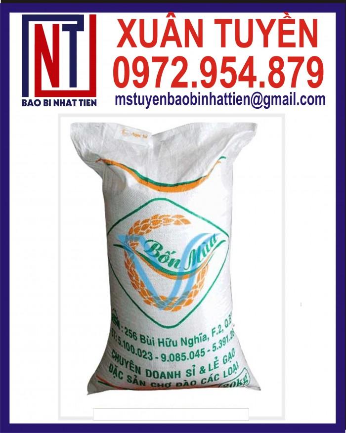 Bao đựng gạo 10kg, 25kg in flexo23