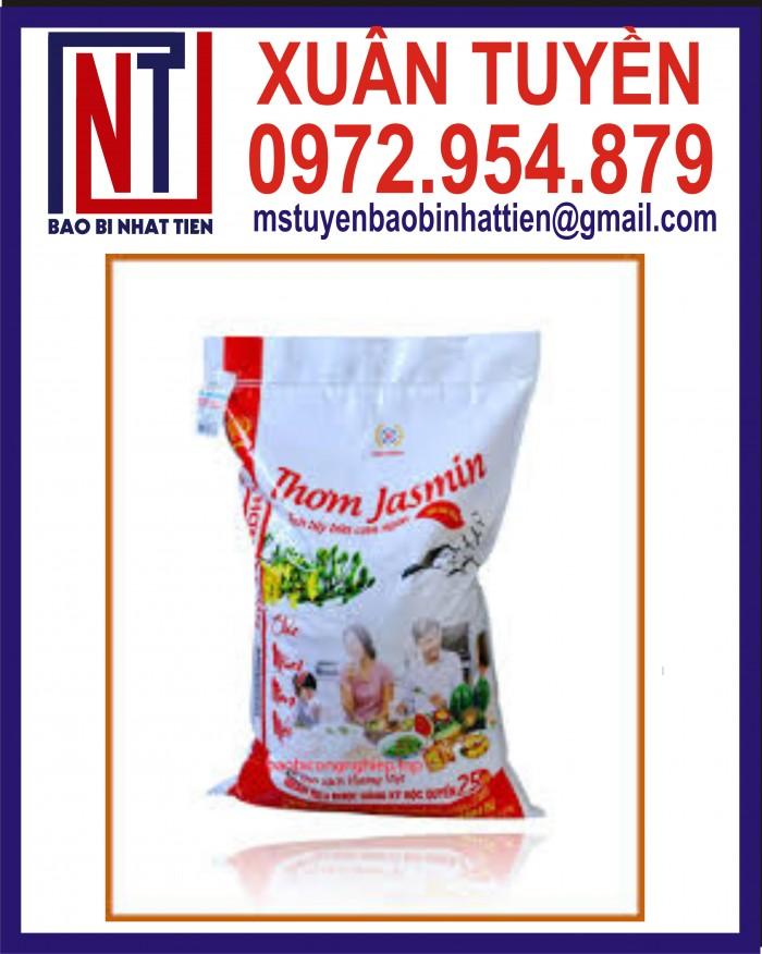 Bao đựng gạo 10kg, 25kg in flexo27