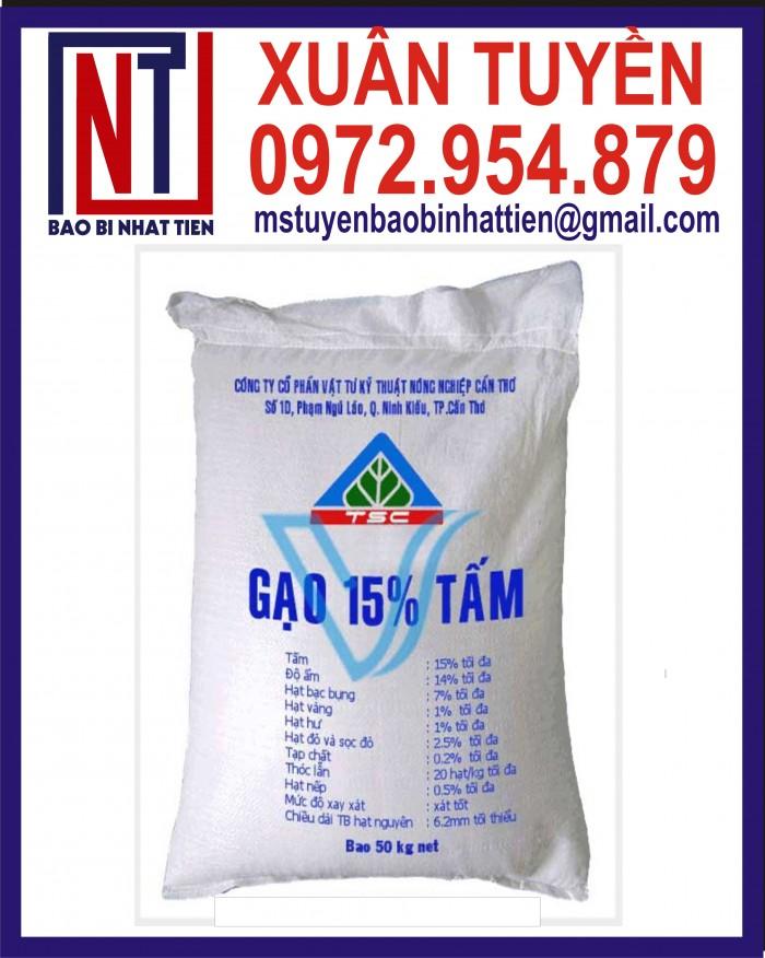 Bao đựng gạo 10kg, 25kg in flexo22
