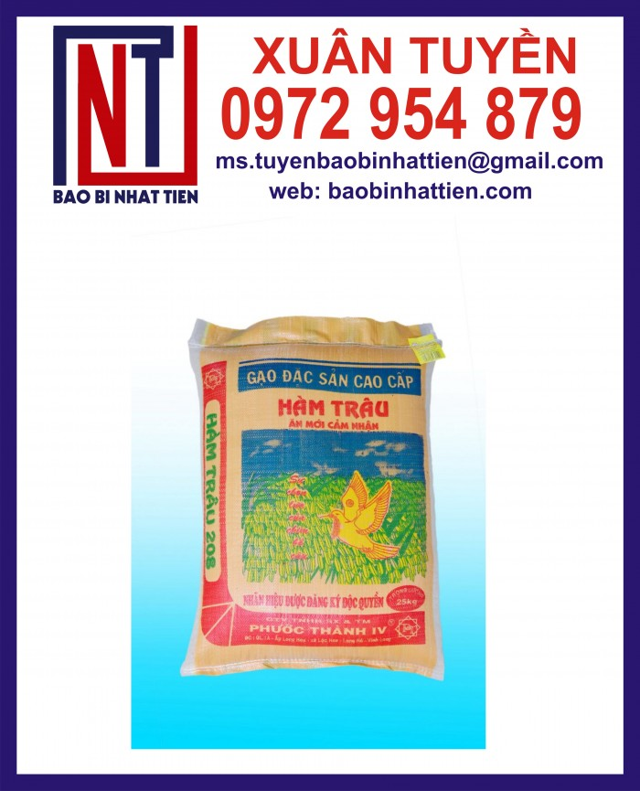 Bao đựng gạo 10kg, 25kg in flexo11