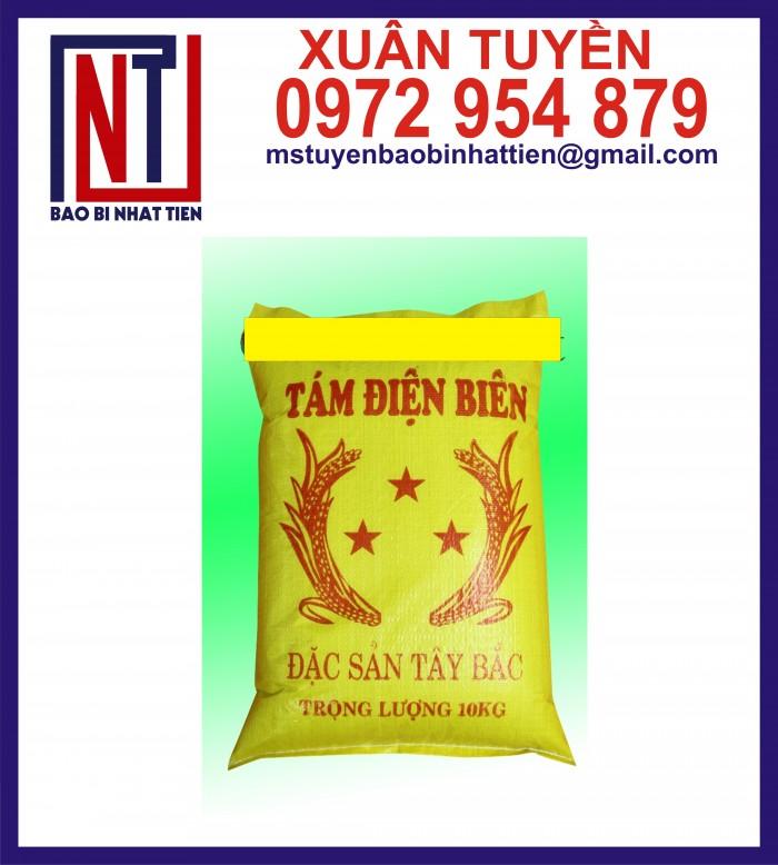 Bao đựng gạo 10kg, 25kg in flexo9