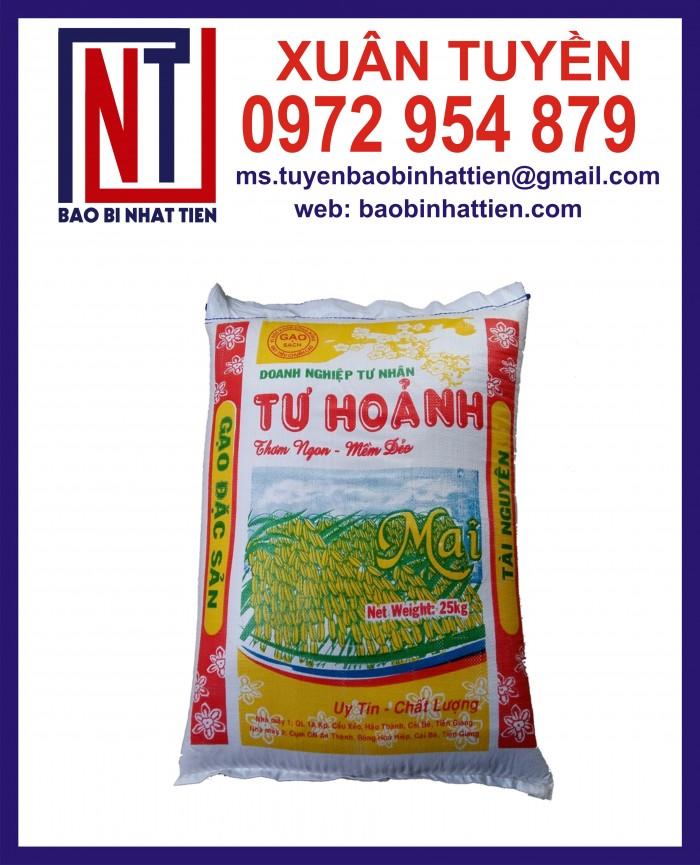 Bao đựng gạo 10kg, 25kg in flexo3
