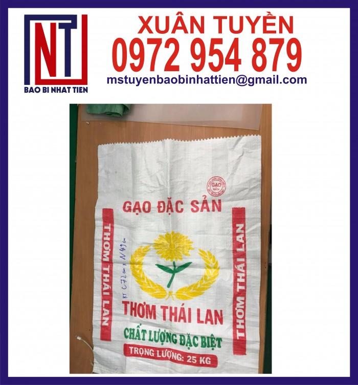 Bao đựng gạo 10kg, 25kg in flexo1