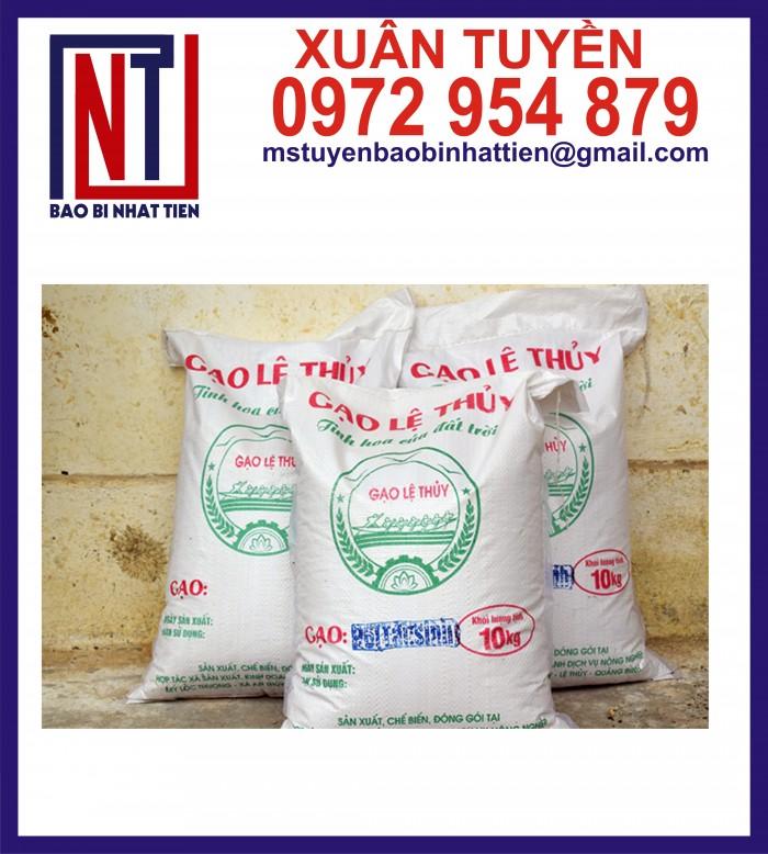Bao đựng gạo 10kg, 25kg in flexo5