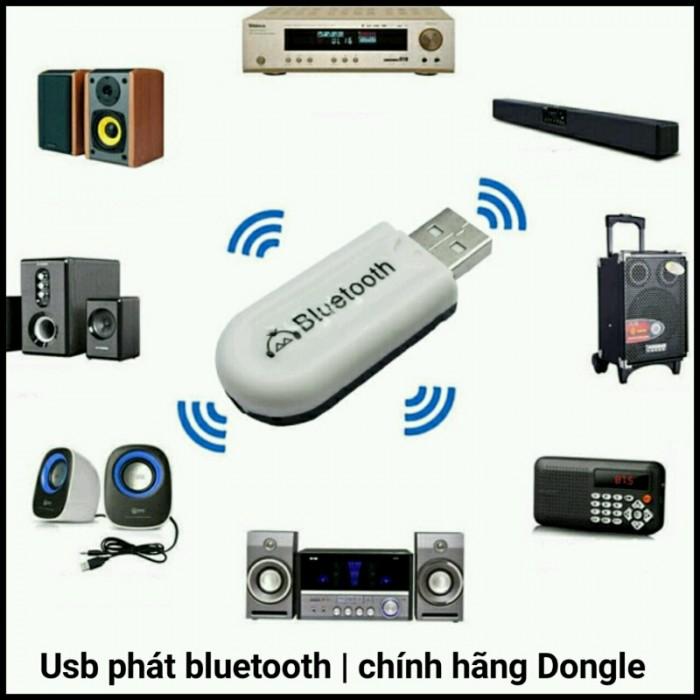 Usb Thu Âm Thanh Bluetooth Dongle Music Receiver Thế Hệ 2 HJX 0011
