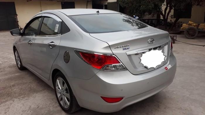 Hyundai Accent sản xuất năm 2013 Số tự động Động cơ Xăng