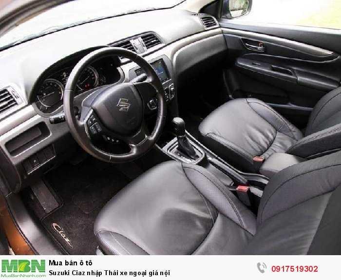 Suzuki Ciaz nhập Thái xe ngoại giá nội