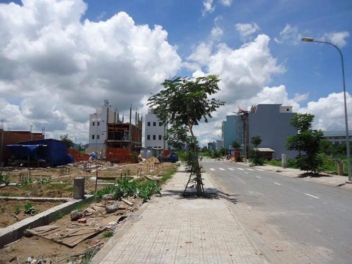 Bán đất Bình Hưng Bình Chánh giáp Q8.mt đường 10m.shr.