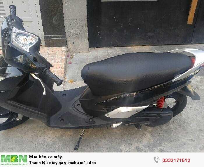Thanh lý xe tay ga Yamaha màu đen