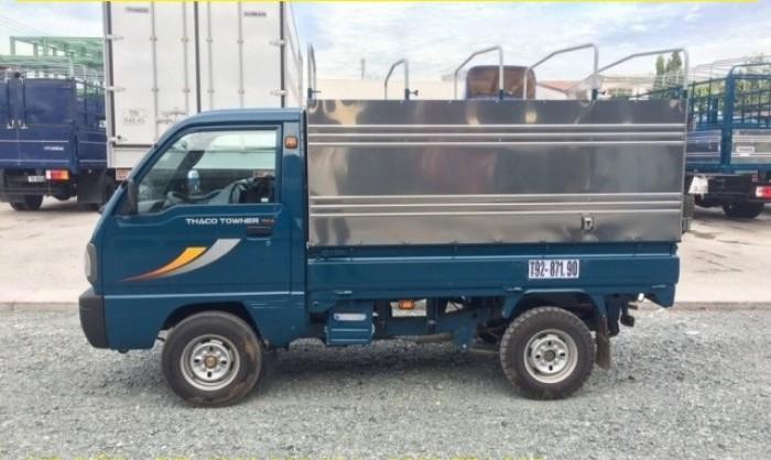 Cần bán xe tải Towner800 thùng kín tải trọng 850 kg, hỗ trợ trả góp 70%. 4