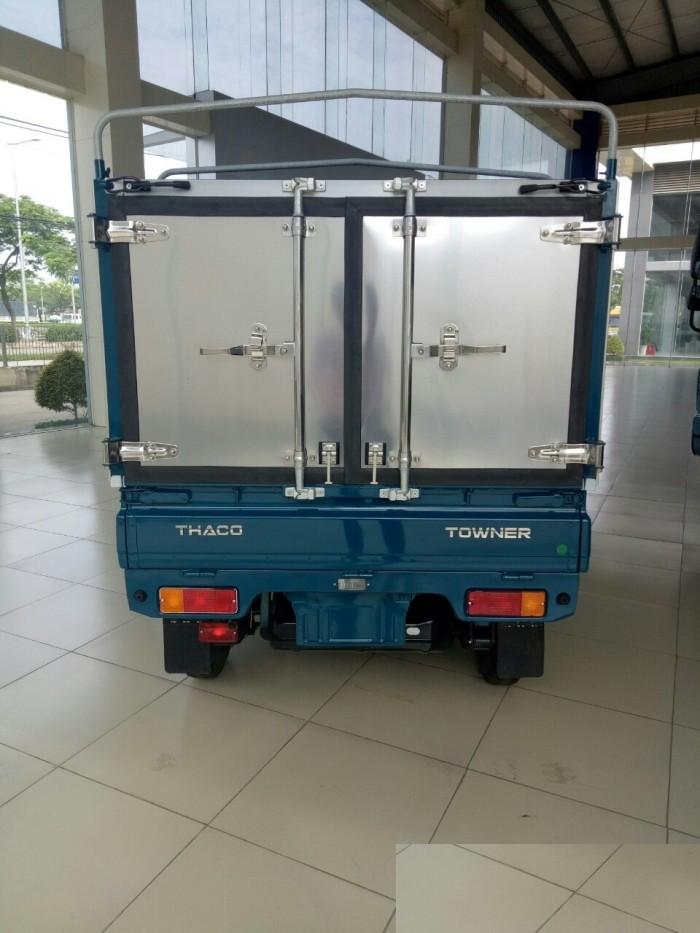 Cần bán xe tải Towner800 thùng kín tải trọng 850 kg, hỗ trợ trả góp 70%. 3