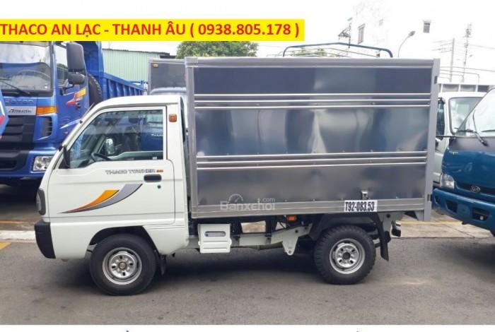 Cần bán xe tải Towner800 thùng kín tải trọng 850 kg, hỗ trợ trả góp 70%. 2