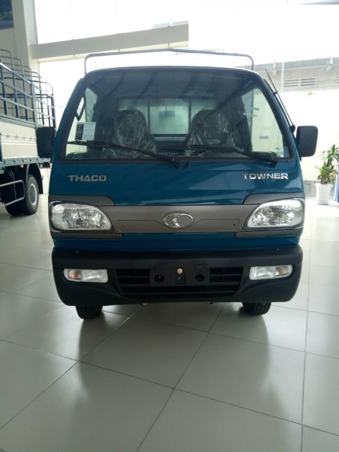 Cần bán xe tải Towner800 thùng kín tải trọng 850 kg, hỗ trợ trả góp 70%. 1