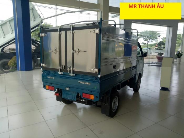 Cần bán xe tải Towner800 thùng kín tải trọng 850 kg, hỗ trợ trả góp 70%. 0