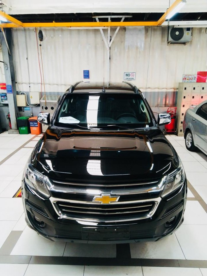 SUV Trailblazer 2.5 LTZ 4x4 lấy xe