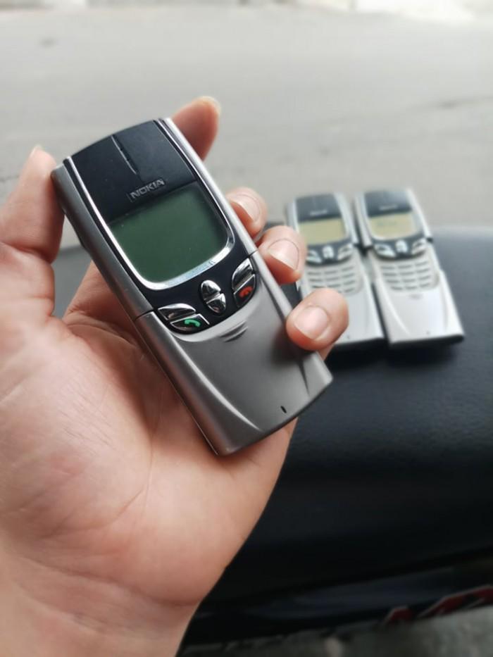 Điện Thoại Nokia 8850 màu xám nguyên zin ,giá rẻ3