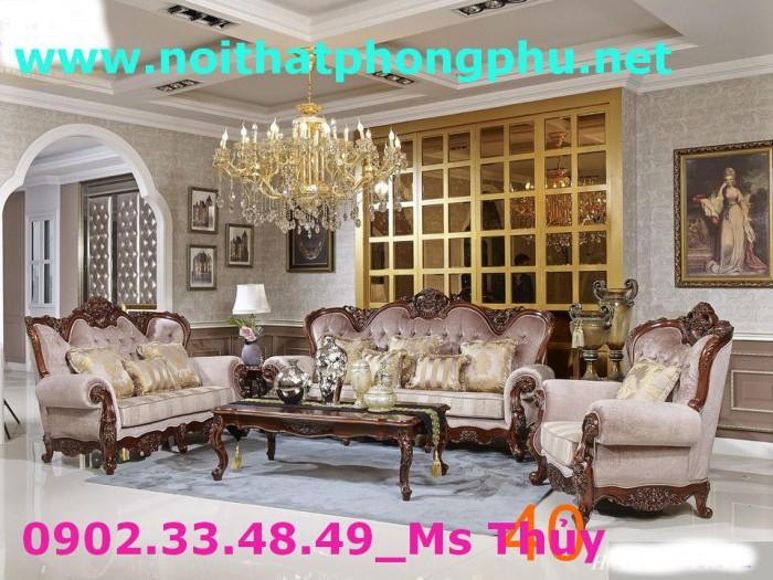 trọn bộ sofa cổ điển 2931