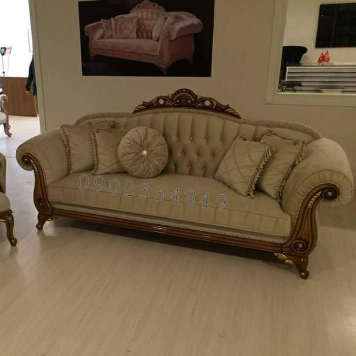 Trọn bộ sofa cổ điển phong cách Châu Âu22