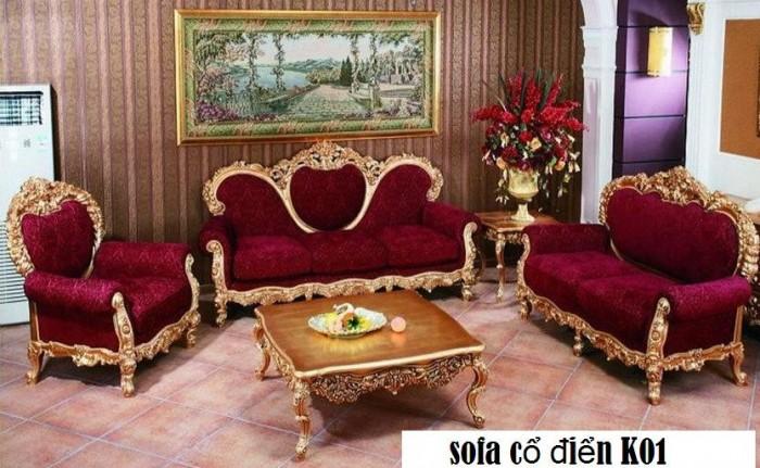 trọn bộ sofa cổ điển 1818