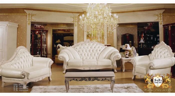 trọn bộ sofa cổ điển 2121