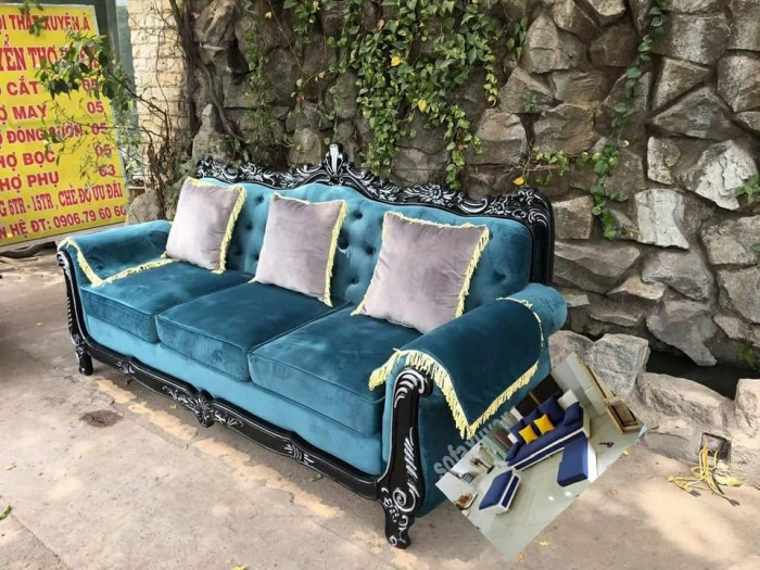 trọn bộ sofa cổ điển 1515