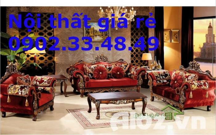 Trọn bộ sofa cổ điển phong cách Châu Âu4