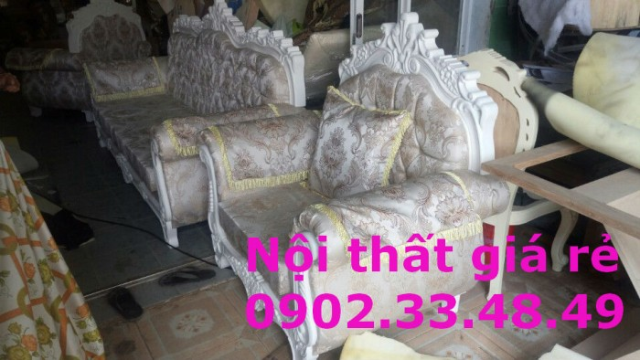trọn bộ sofa cổ điển 088
