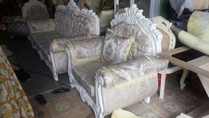 trọn bộ sofa cổ điển 099
