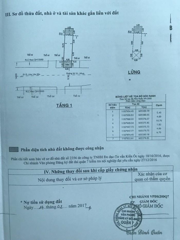 Bán đất giá rẻ ở phường Tân Qui