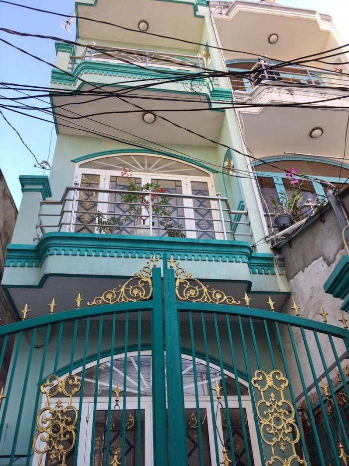 Bán nhà 2 lầu hẻm 502 Huỳnh Tấn Phát P. Bình Thuận Quận 7.