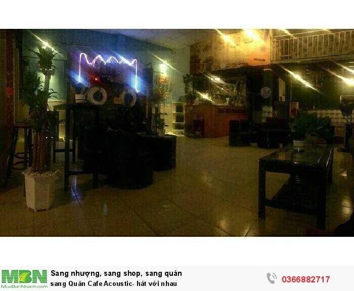 Sang Quán Cafe Acoustic- hát với nhau