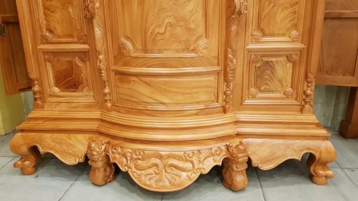 Bàn thờ kiểu trơn  vân gỗ tuyển chọn đẹp xuất sắc4