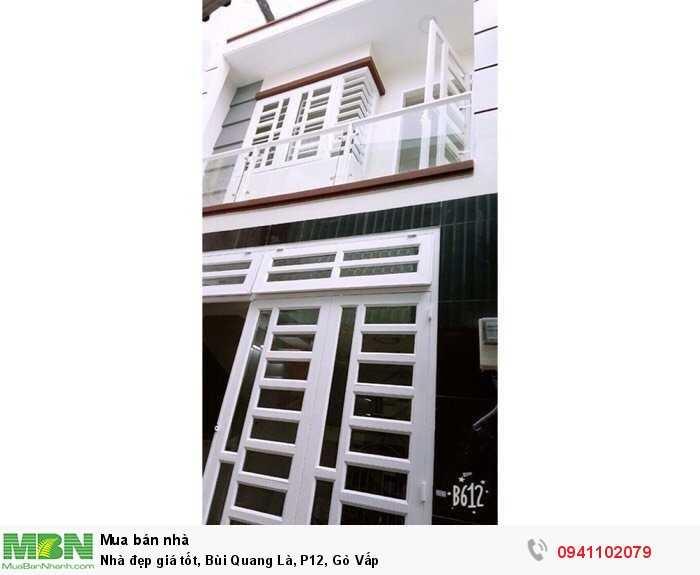 Nhà đẹp giá tốt, Bùi Quang Là, P12, Gò Vấp